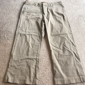 Lee one true fit 4 pocket tan dress pants